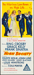 "Movie Posters:Musical, High Society (MGM, 1956). Australian Daybill (13.5"" X 30""). Musical.. ..."