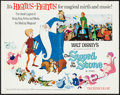 """Movie Posters:Animation, The Sword in the Stone (Buena Vista, R-1973). Half Sheet (22"""" X28""""). Animation.. ..."""