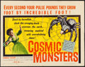 "Movie Posters:Science Fiction, Cosmic Monsters (DCA, 1958). Half Sheet (22"" X 28""). ScienceFiction.. ..."