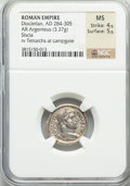 Ancients:Roman Imperial, Ancients: Diocletian (AD 284-305). AR argentius (3.37 gm)....