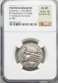 Ancients:Oriental, Ancients: PARTHIAN KINGDOM. Vardanes I (ca. AD 38-46). BIL tetradrachm (13.94 gm)....