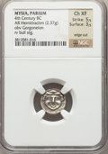 Ancients:Greek, Ancients: MYSIA. Parion. Ca. 4th century BC. AR hemidrachm (2.37gm)....