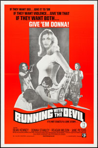 """Running with the Devil & Other Lot (Unisphere, 1973). One Sheets (35) (25"""" X 38"""", 27"""" X 41"""")..."""