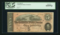 Confederate Notes:1864 Issues, T69 $5 1864 PF-10 Cr. 564.. ...