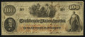 Confederate Notes:1862 Issues, T41 $100 1862 PF-12 Cr. 317A. ...