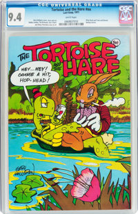 Tortoise and the Hare #1 (Last Gasp, 1971) CGC NM 9.4 White pages