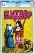 Fantagor #4 (Rip Off Press, 1972) CGC NM+ 9.6 Off-white to white pages
