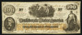 Confederate Notes:1862 Issues, CT41/315 $100 1862.. ...
