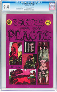 Tales From the Plague #1 (Weirdom Publications, 1971) CGC NM 9.4 Off-white to white pages