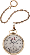 Baseball Collectibles:Others, 1944 St. Louis Cardinals World Series Championship Pocket Watch Presented to George Munger....