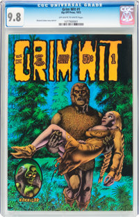 Grim Wit #1 (Rip Off Press, 1972) CGC NM/MT 9.8 Off-white to white pages