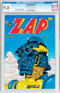 Zap Comix #7 (Apex Novelties/Print Mint, 1974) CGC NM/MT 9.8 Off-white to white pages