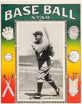 "Baseball Collectibles:Others, Circa 1920 ""Base Ball Star"" Notebook Cover with Rogers Hornsby. ..."