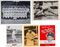 Baseball Collectibles:Others, 1940's -1950's Stan Musial Premiums & Team Photo Collection (5Items). ...