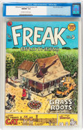 Bronze Age (1970-1979):Alternative/Underground, The Fabulous Furry Freak Brothers #5 (Rip Off Press, 1977) CGC NM/MT 9.8 Off-white to white pages....