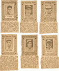 Baseball Cards:Lots, 1930's-40's Atlanta, Boston, Philadelphia, Pittsburgh, SundayAdvertiser and The Sporting News Sports Stamps Collection (6...