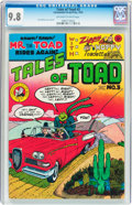 Bronze Age (1970-1979):Alternative/Underground, Tales of Toad #3 (Print Mint, 1973) CGC NM/MT 9.8 Off-white to white pages....