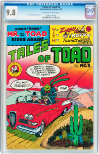Tales of Toad #3 (Print Mint, 1973) CGC NM/MT 9.8 Off-white to white pages