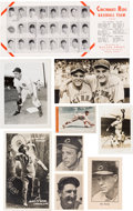 Baseball Cards:Lots, 1930's -1950's Cincinnati Reds Regional & Team Issue Collection. ...
