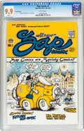 Silver Age (1956-1969):Alternative/Underground, Zap Comix #1 Third Printing (Apex Novelties/Print Mint, 1968) CGCMT 9.9 White pages....
