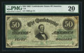 Confederate Notes:1862 Issues, T50 $50 1862 PF-12 Cr. 358.. ...