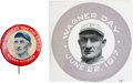 "Baseball Cards:Lots, Vintage 1924 Mrs. Sherlock's and 1917 Wagner Day"" Honus Wagner Pair(2). ..."