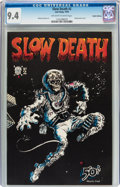 Slow Death #2 Haight-Ashbury pedigree (Last Gasp, 1970) CGC NM 9.4 Off-white to white pages