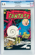 Bronze Age (1970-1979):Alternative/Underground, Graphic Fantasy #1 Haight-Ashbury pedigree (D. B. Features, 1971) CGC NM 9.4 Off-white to white pages....