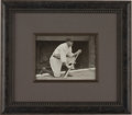 Baseball Collectibles:Photos, 1920's Babe Ruth Original Photograph by Paul Thompson, PSA/DNA Type1. ...