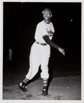 Baseball Collectibles:Photos, 1948 Satchel Paige Original News Photograph, PSA/DNA Type 1. ...
