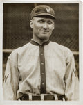 Baseball Collectibles:Photos, 1910's Walter Johnson Original Photograph by Paul Thompson, PSA/DNAType 1. ...