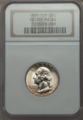 Washington Quarters, 1950-S/D 25C FS-601 MS66 NGC....