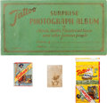 Baseball Cards:Lots, 1932 - 1933 Orbit Gum Company Cards, Pack and Album (4 Items) With R308 Cochrane. ...