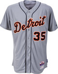 Baseball Collectibles:Uniforms, 2015 Justin Verlander Game Worn Detroit Tigers Jersey with MLB Hologram. ...