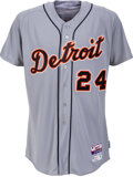 Baseball Collectibles:Uniforms, 2015 Miguel Cabrera Game Worn Detroit Tigers Jersey with MLB Hologram....