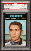Baseball Cards:Singles (1970-Now), 1971 Topps Hector Torres #558 PSA Mint 9....