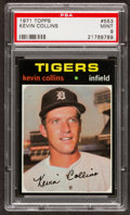 Baseball Cards:Singles (1970-Now), 1971 Topps Kevin Collins #553 PSA Mint 9....