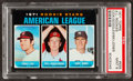 Baseball Cards:Singles (1970-Now), 1971 Topps A.L. Rookies #559 PSA Mint 9....