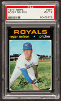 Baseball Cards:Singles (1970-Now), 1971 Topps Roger Nelson #581 PSA Mint 9....