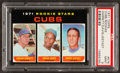 Baseball Cards:Singles (1970-Now), 1971 Topps Cubs Rookies #576 PSA Mint 9....