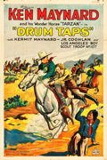 "Movie Posters:Western, Drum Taps (Worldwide Pictures, 1933). One Sheet (27"" X 41"").. ..."