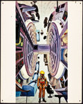 "Movie Posters:Science Fiction, 2001: A Space Odyssey (MGM, 1968). Small Displays (2) (16"" X 20"")..... (Total: 2 Items)"