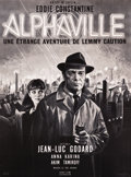 "Movie Posters:Science Fiction, Alphaville (Athos Films, 1965). French Grande (45"" X 61"").. ..."