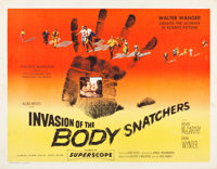 """Invasion of the Body Snatchers (Allied Artists, 1956). Half Sheet (22"""" X 28"""") Style A"""