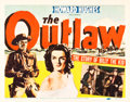 """Movie Posters:Western, The Outlaw (United Artists, 1941). Title Lobby Card (11"""" X 14"""").. ..."""