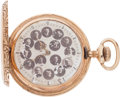 Football Collectibles:Others, Early 1900's University of Chicago Gold Pocketwatch. ...