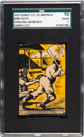 """Baseball Cards:Singles (1930-1939), 1930's D146 Doughnut Co. of America """"Thrilling Moments..."""" BabeRuth SGC 10 Poor 1. ..."""