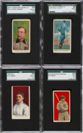 "Baseball Cards:Lots, 1909 - 1913 ""E"" Caramel/Candy Baseball Card Collection (7). ..."