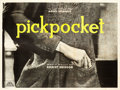 "Movie Posters:Foreign, Pickpocket (Compagnie Cinematographie de France, 1959). French FourPanel (94"" X 126"").. ..."