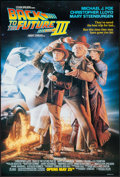 "Movie Posters:Science Fiction, Back to the Future Part III (Universal, 1990). One Sheet (27"" X40"") DS Advance. Science Fiction.. ..."